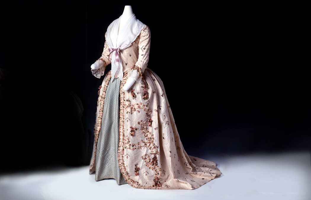 18c Silk Taffeta Gown