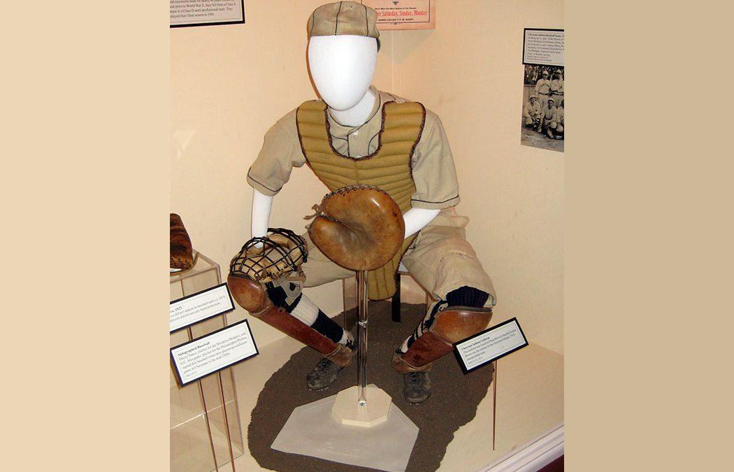 1923 Catcher's Uniform
