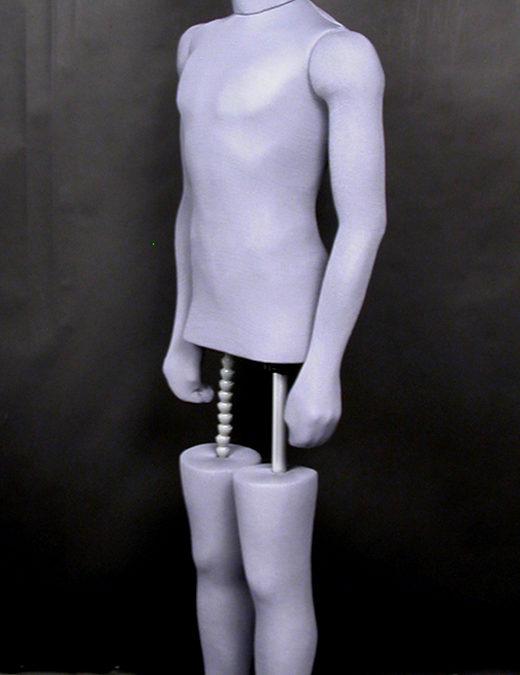 4150 Economy Ethafoam Man (grey)